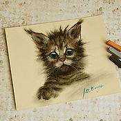 Картины и панно handmade. Livemaster - original item Pastel painting