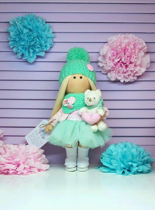 Куклы тыквоголовки ручной работы. Ярмарка Мастеров - ручная работа. Купить Куколка Конфетка :). Handmade. Интерьерная кукла, шитье