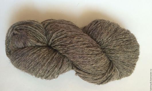 Вязание ручной работы. Ярмарка Мастеров - ручная работа. Купить Дундага 6/3 Натуральный серый. Handmade. Комбинированный, кауни