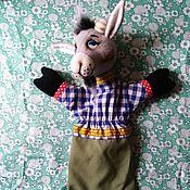 Куклы и игрушки handmade. Livemaster - original item Goat. A glove puppet theatre for the play.. Handmade.