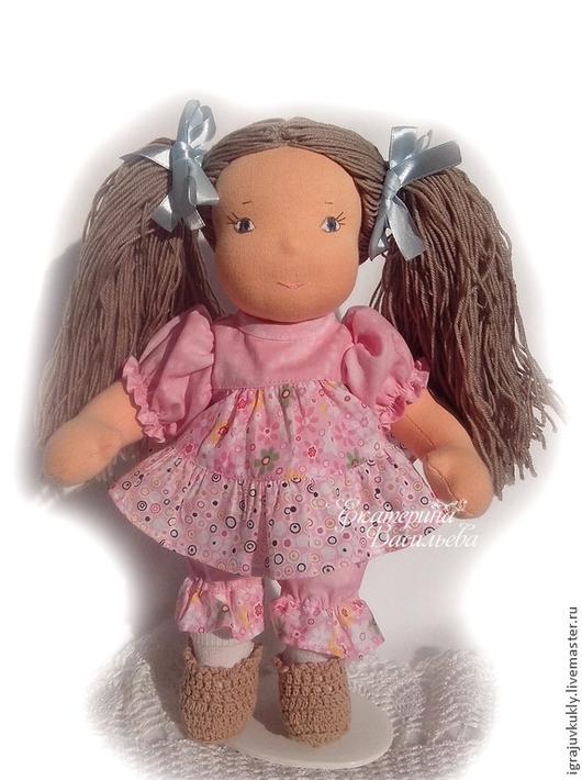 Вальдорфская игрушка ручной работы. Ярмарка Мастеров - ручная работа. Купить Вальдорфская кукла Алиса. Handmade. Розовый, кукла