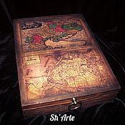 Для дома и интерьера handmade. Livemaster - original item Box of pipes and pipe accessories, treasures of Odessa. Handmade.