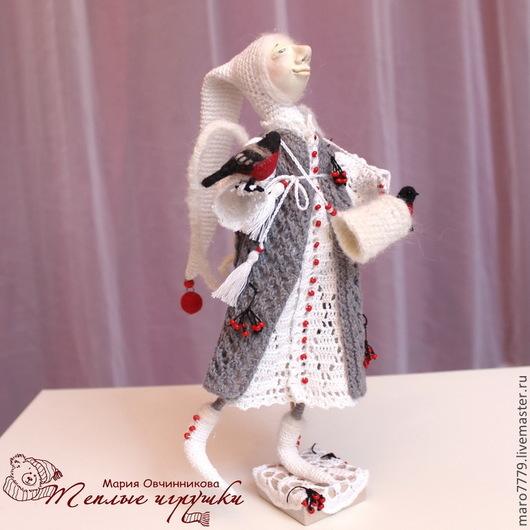 интерьерная кукла ручной работы, коллекционная кукла купить, кукла белый ангел, кукла ангел ручной работы, подарок крестному на день рождения, подарок крестнику, подарок день ангела, душевные подарки