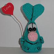 Куклы и игрушки ручной работы. Ярмарка Мастеров - ручная работа Позитиффчик ушастый. Handmade.