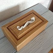 Для дома и интерьера handmade. Livemaster - original item Napkin holder solid oak. Handmade.