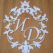 Свадебный салон ручной работы. Ярмарка Мастеров - ручная работа Свадебная монограмма, фамильный герб.. Handmade.