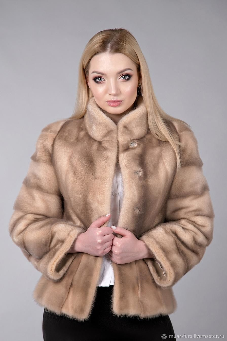 Jacket of mink 'the very soft new'. Mink jacket. Mink coat, Fur Coats, Kirov,  Фото №1