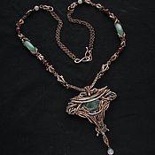 Украшения handmade. Livemaster - original item Necklace with green fluorite. Handmade.