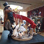 """Куклы и пупсы ручной работы. Ярмарка Мастеров - ручная работа Куклы: Мини-театр """"Золотой ключик"""". Handmade."""
