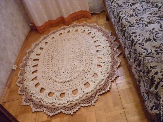 Текстиль, ковры ручной работы. Ярмарка Мастеров - ручная работа. Купить полиэфирный ковер. Handmade. Для спальни