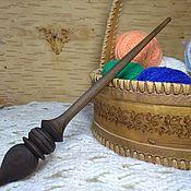 Веретено ручной работы. Ярмарка Мастеров - ручная работа Деревянное веретено для прядения из древесины сибирского кедра#V2. Handmade.