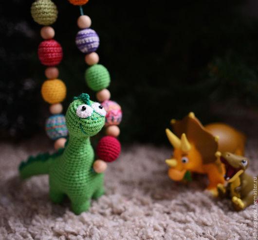 Слингобусы с Динозавром. Мастер: ЮИ