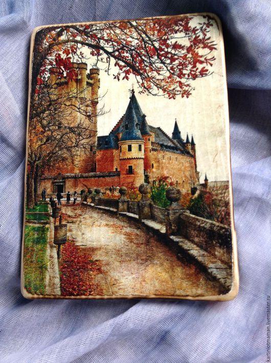 Фотокартины ручной работы. Ярмарка Мастеров - ручная работа. Купить Золотой замок. Handmade. Замок, картина, панно, подарок