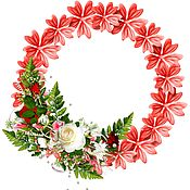 Аксессуары ручной работы. Ярмарка Мастеров - ручная работа Венок цветочный, новый, красивый. Handmade.