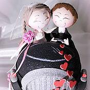 """Сувениры и подарки ручной работы. Ярмарка Мастеров - ручная работа """"Ах, эта свадьба, свадьба"""" Куклы из Фом Эва. Handmade."""