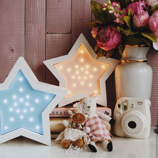 Светодиодный ночник `Звезда`