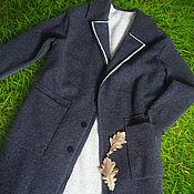 """Одежда ручной работы. Ярмарка Мастеров - ручная работа Пальто из шерсти """" ОСЕНЬ"""" шерстяное пальто на осень. Handmade."""