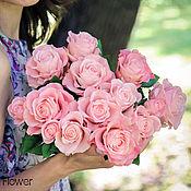 Цветы и флористика ручной работы. Ярмарка Мастеров - ручная работа Розы ручной работы. Handmade.