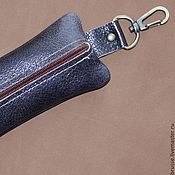 Аксессуары handmade. Livemaster - original item Key holders of leather Redbag. Handmade.