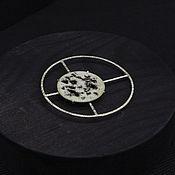 Украшения handmade. Livemaster - original item Heavenly Body brooch silver, hot enamel jewelry. Handmade.