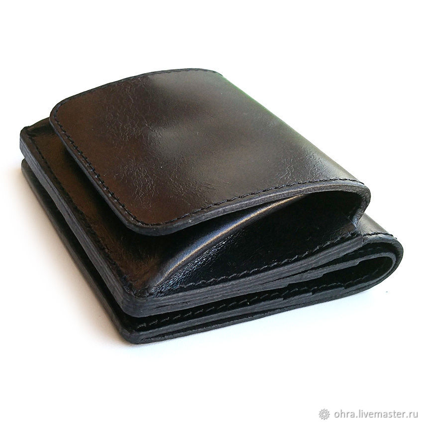 Wallet 'Dinar' black, Wallets, Cheboksary,  Фото №1
