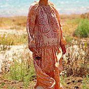 """Одежда ручной работы. Ярмарка Мастеров - ручная работа Шелковое платье """"Аленький Цветочек"""". Handmade."""