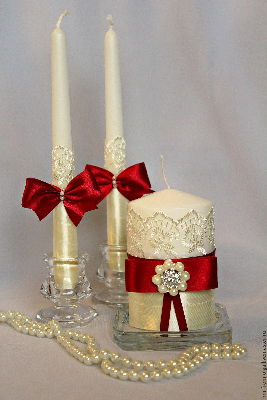 Свечи в подарок на свадьбу 70