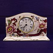 """Часы каминные MASON'S, дизайн """"Mandalay Red"""""""