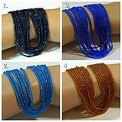 Материалы для творчества handmade. Livemaster - original item Spinel beads 4 colors. with a jewelry cut of 2 mm. Thread. Handmade.