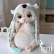 Куклы и игрушки ручной работы. Ярмарка Мастеров - ручная работа крошка Стешечка с веснушечками в шапочке совы. Handmade.