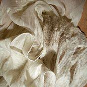 """Аксессуары ручной работы. Ярмарка Мастеров - ручная работа Шарф """"Первый снег"""". Handmade."""