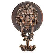 Двери ручной работы. Ярмарка Мастеров - ручная работа Дверная ручка Лев (бронзовая дверная ручка). Handmade.