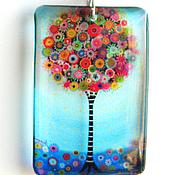Украшения handmade. Livemaster - original item Transparent pendant