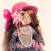 Куклы и игрушки ручной работы. Ярмарка Мастеров - ручная работа Текстильная кукла La Princesse Michelle / Принцесса Мишель. Handmade.