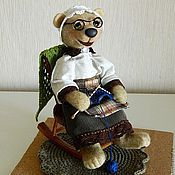 Куклы и игрушки ручной работы. Ярмарка Мастеров - ручная работа Бабушка. Handmade.