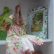 """Куклы и игрушки ручной работы. Ярмарка Мастеров - ручная работа Тильда """"Весенняя принцесса"""". Handmade."""