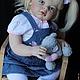 Куклы-младенцы и reborn ручной работы. кукла реборн Ариша. Шумакова Вера. Ярмарка Мастеров. Кукла в подарок, волосы натуральные