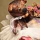 Мишки Тедди ручной работы. Ярмарка Мастеров - ручная работа. Купить Оливия. Handmade. Бордовый, мишки тедди, мишка-тедди
