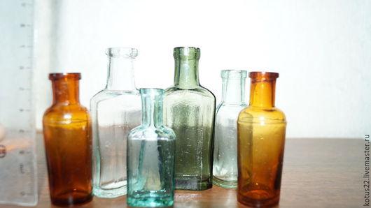 Другие виды рукоделия ручной работы. Ярмарка Мастеров - ручная работа. Купить Бутылочки маленькие и не очень для реализации творческих идей. Handmade.