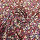 Шитье ручной работы. Заказать Холодный трикотаж цветочки розовые 1041614 Италия Цена за метр. Ткани Fashion Fabric (fashion-fabric). Ярмарка Мастеров.