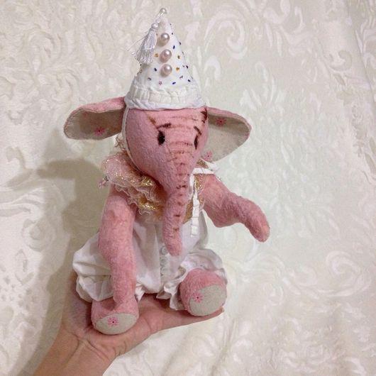 Мишки Тедди ручной работы. Ярмарка Мастеров - ручная работа. Купить Бина.. Handmade. Слоник в стиле тедди, друзья тедди