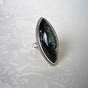 Украшения handmade. Livemaster - original item Serafinite ring. Handmade.