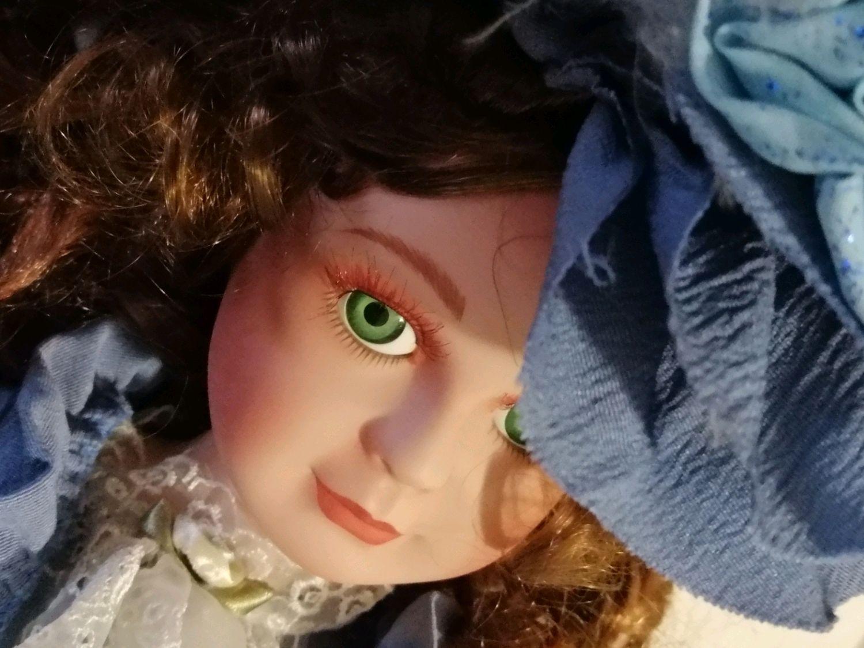 Винтаж: кукла в викторианском стиле, Куклы и пупсы, Санкт-Петербург,  Фото №1