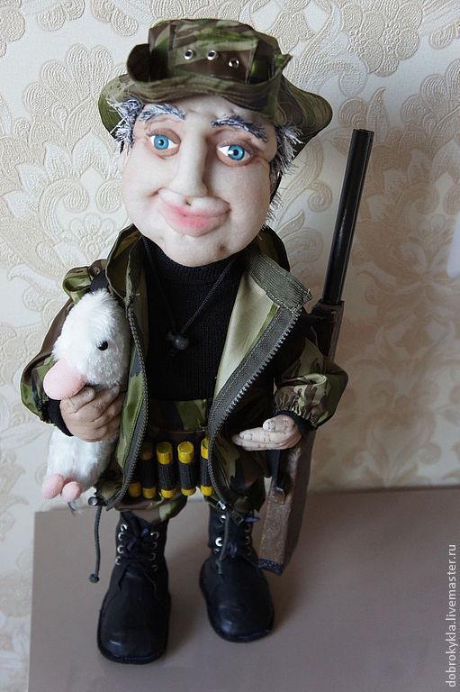 Портретно-шаржевая кукла ручной работы.Мастер-Оксана Добровольская.Мои куклы для вас с любовью!!!