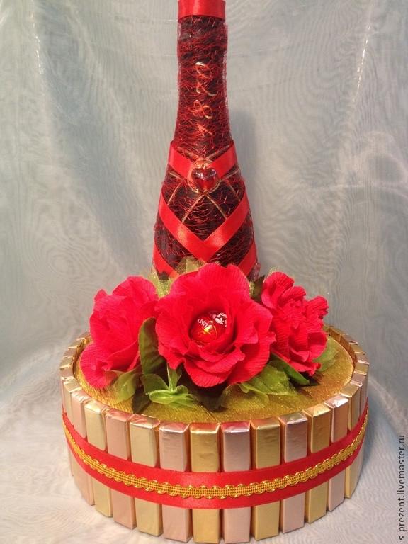 Торт из шампанского и конфет