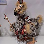 Куклы и игрушки ручной работы. Ярмарка Мастеров - ручная работа Додо, Додо клоун, подвижная игрушка. Handmade.