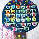 """Развивающие игрушки ручной работы. Ярмарка Мастеров - ручная работа. Купить Плакат Алфавит """"ДЕРЕВО"""". Handmade. Фетр, плакат алфавит"""
