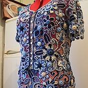 """Одежда ручной работы. Ярмарка Мастеров - ручная работа Костюм """" Аквамарин """". Handmade."""