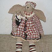 Куклы и игрушки ручной работы. Ярмарка Мастеров - ручная работа Клетчатые  зайчики. Handmade.