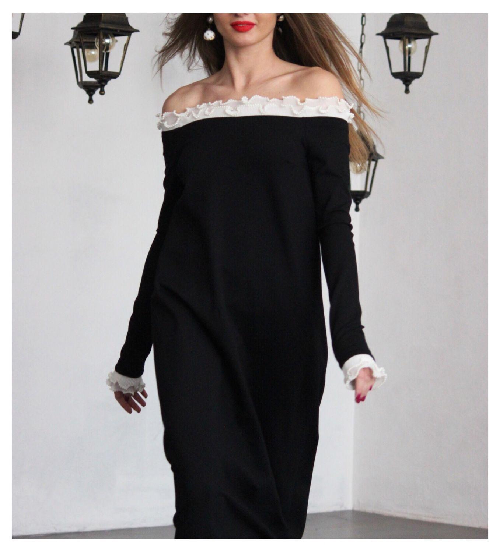 15fa7242e93 Платья ручной работы. Ярмарка Мастеров - ручная работа. Купить Платье из  джерси.